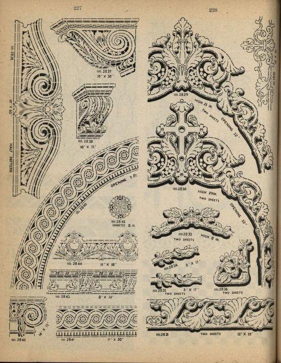 Excelsior fresco stencils. by Geo. E. Watson Co.  Published 1924