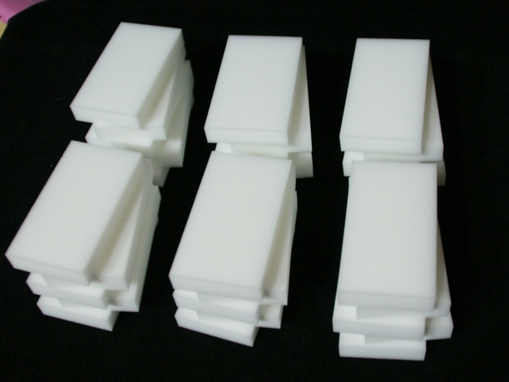 Apparently Mr Clean Magic Erasers are just this stuff called Melamine Foam. You can buy it in bulk on Amazon for way less!