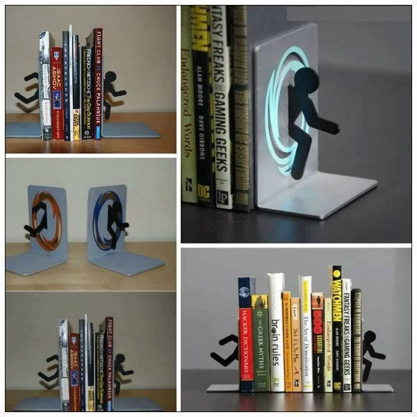 Portal book ends h o m e s t u f f pinterest portal and books - Portal book ends ...