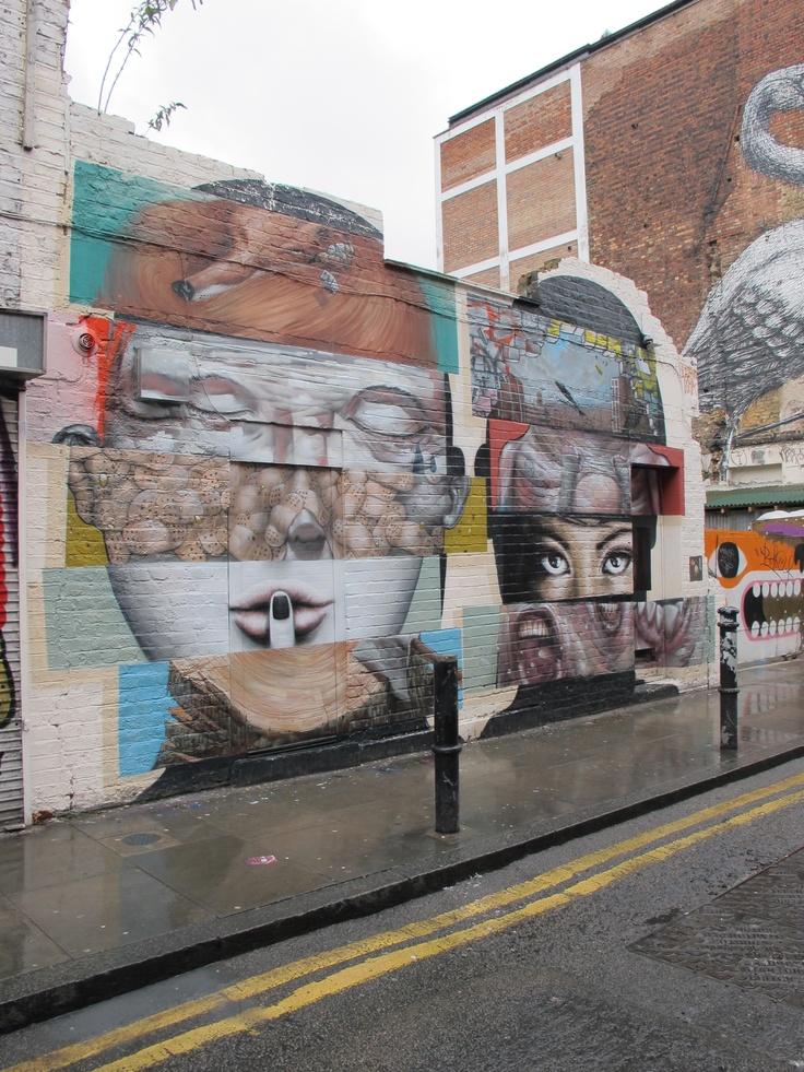 Shoreditch Street Art in London
