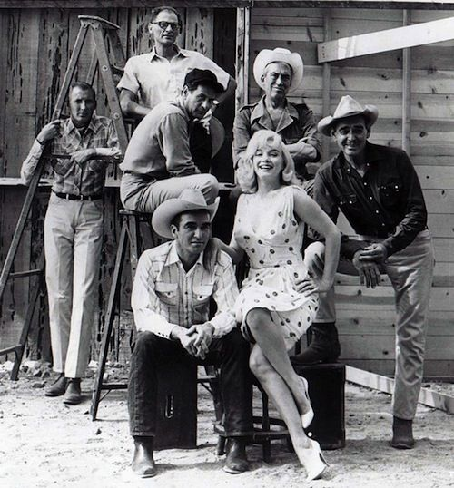 Marilyn Monroe and The Misfits Cast