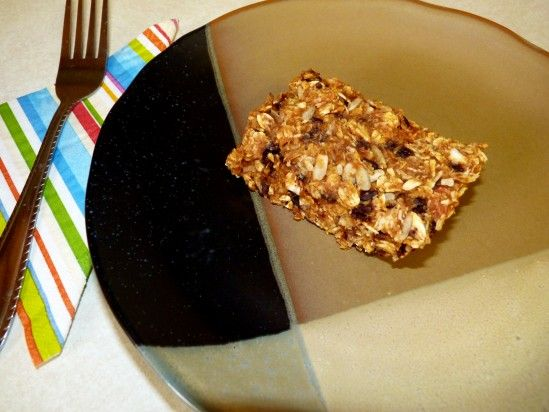 Pumpkin Power Bars