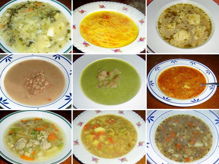 Pravidla pro vaření polévek