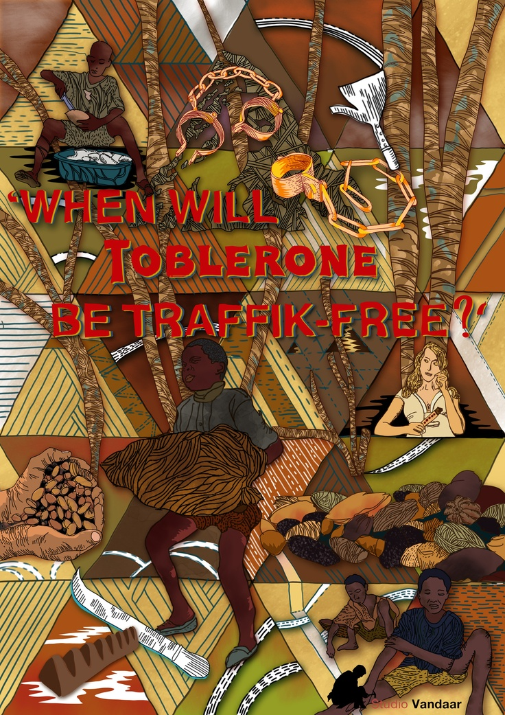 "Ask Kraft ""When will Toblerone be Traffik-Free?"" STOP THE TRAFFIK competition entry by Jedi Noordegraaf"