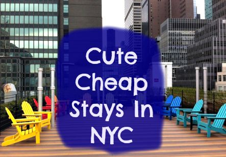 You don't have to sacrifice style and comfort to save a few bucks.  Get a look inside these cute cheap stays in NYC here:  http://thetravelbite.com/travel-tips/cheap-chic-stays-in-nyc/  #NYC #Travel
