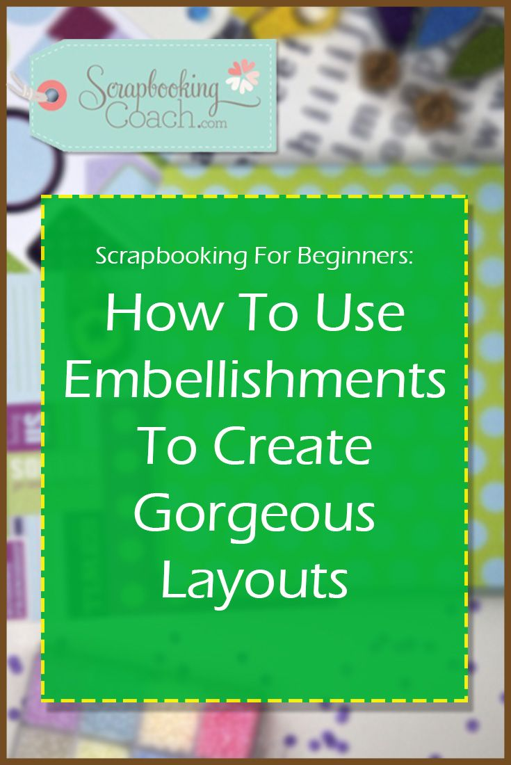 How to scrapbook 8x8 layouts - In This Scrapbooking Tutorial For Beginners You Ll Discover 3 Hot Tips To Help You