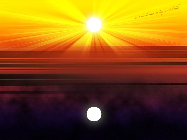 sun and moon backgrounds - Google Search | Sun Art/ill ...