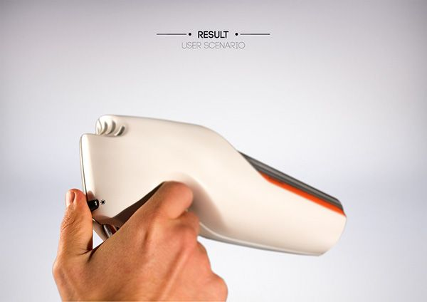 Hair dryer concept model on Behance