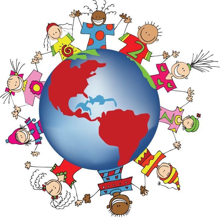 Pix For Children Around The World Clipart