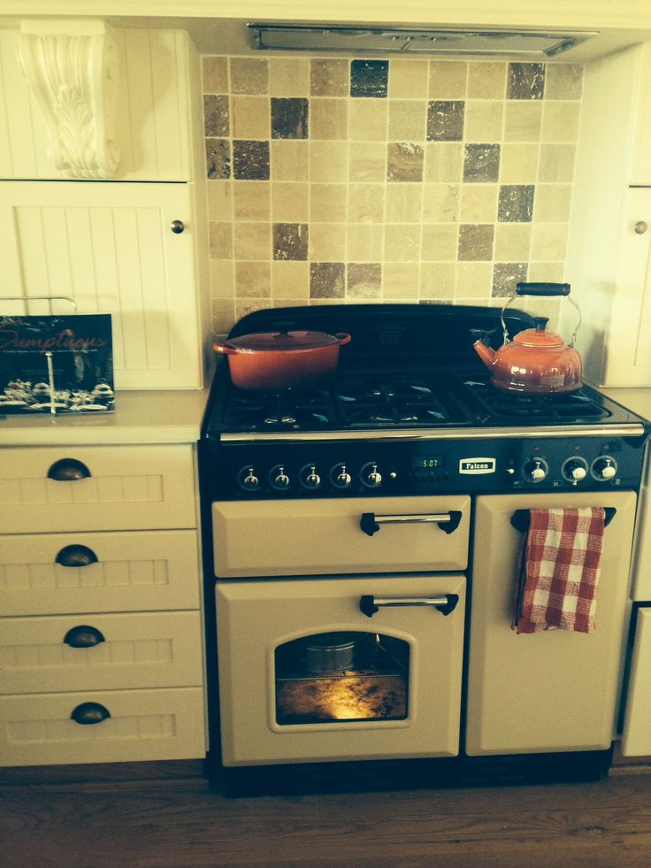 Falcon double oven with gas hob..a dream come true!