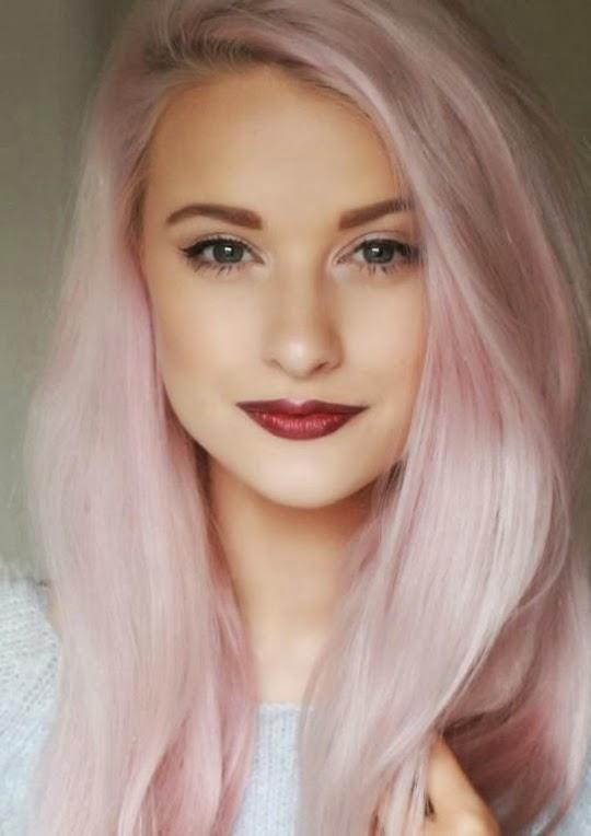 cabello rosa pastel - Buscar con Google