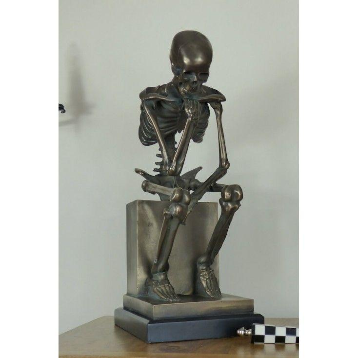 The Thinker Skeleton