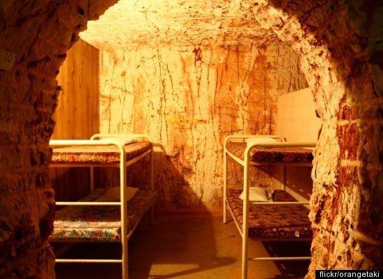 Dug-out hostel Coober Pedy, South Australia