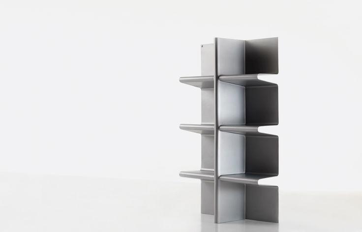 #cioccolata bookcase, design by Aziz Sariyer for #altreforme, #limitededition #interior #home #decor #homedecor #furniture #aluminium
