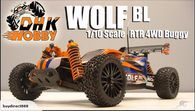 DHK 8131 Wolf Brush Less 4WD RC Buggy 1/10 8131 - Brand new, Factory sealed item. we are an authorized hobby shop for DHK so you will get the safety of the factory warranty.