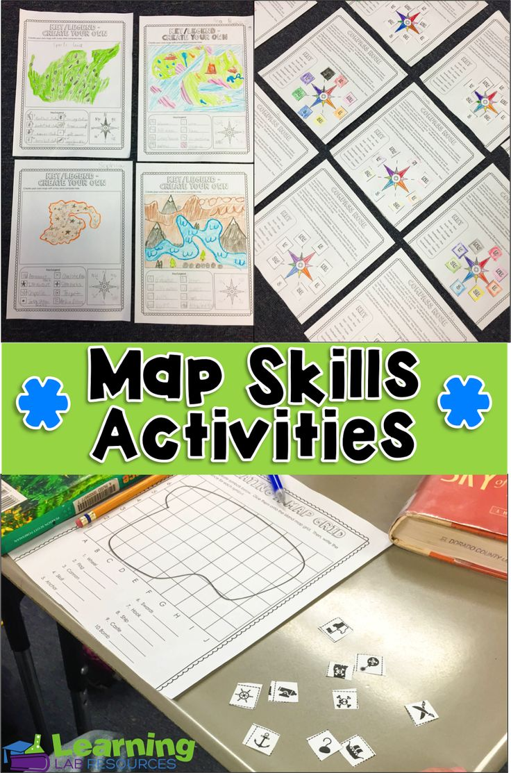 Common Core and So Much More: Engaging Map Skills Activities