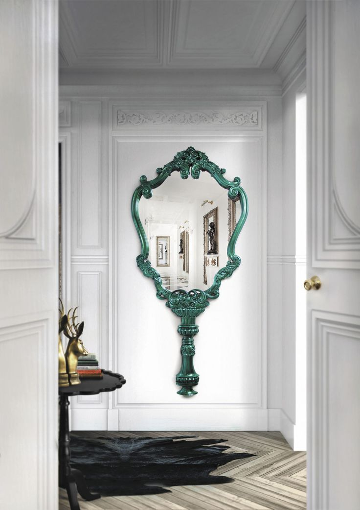 116 best Mirrors images on Pinterest Wall mirrors Mirror ideas