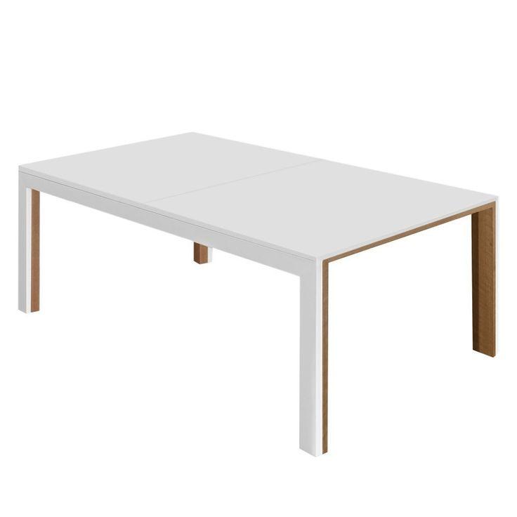 Esstisch Ellendale (mit Ausziehfunktion)   Esche Teilmassiv / Eisen   Weiß  / Eiche, Studio Copenhagen Jetzt Bestellen Unter: ...