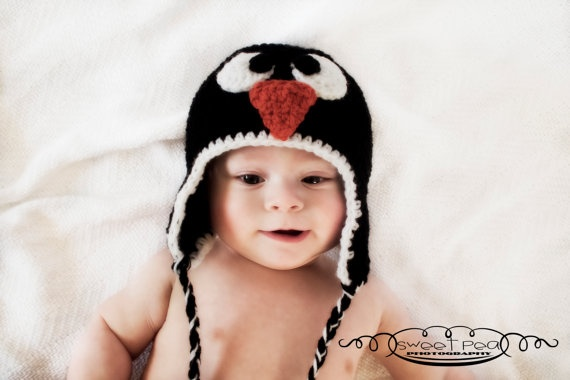The cutest Penguin hat ever!!!!