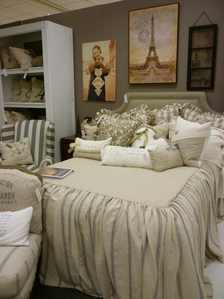 34 Best Images About Bedroom Ideas On Pinterest French Farmhouse Guest Rooms And Bed Linens