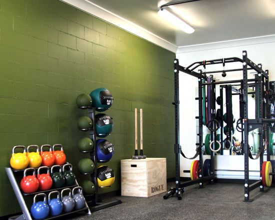 Basement garage crossfit home gym dream man cave
