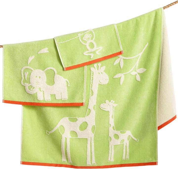 Kassatex Kids Kassa Jungle Bath Towel Bedding Towel Collection