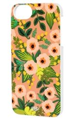 Rifle Paper Co. Peach Floral iPhone cases now in the sale