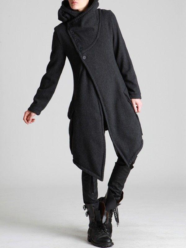 (Wool Coat by LURDES BERGADA