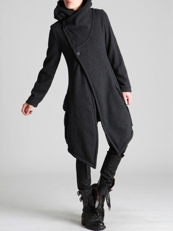 WOOL COAT WITH FLEECE LINING - JACKETS, JUMPSUITS, DRESSES, TROUSERS, SKIRTS, JERSEY, KNITWEAR, ACCESORIES - Woman -