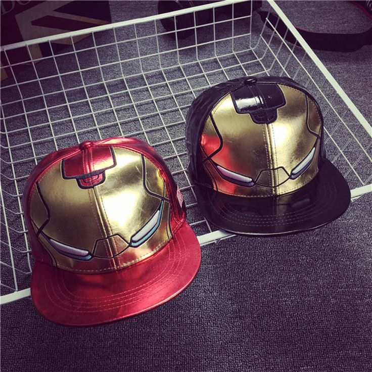 Iron Man Leather Cap //Price: $19.00 & FREE Shipping //     #avengers #justiceleague #superman #spiderman