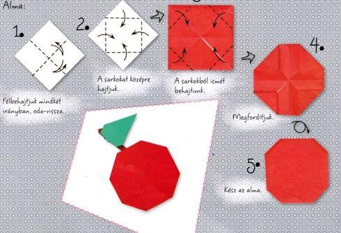 egyszerű hajtogatás alma - Google keresés