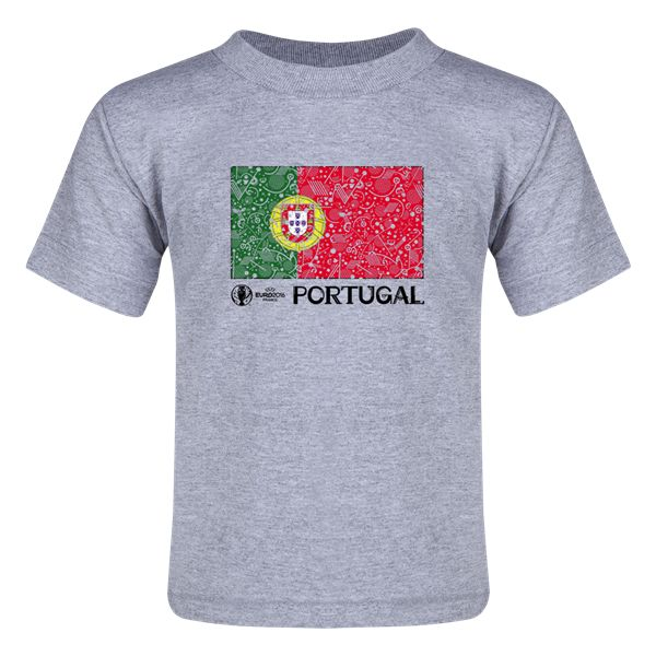 Portugal Euro 2016 Fashion Toddler T-Shirt
