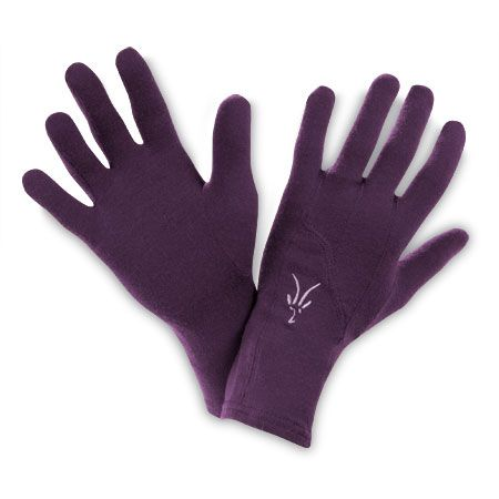 Stretch Merino Wool Glove Liners | Ibex Cold Weather Running Gear