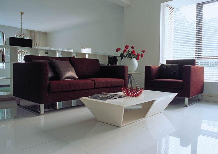 Modern Sofa Simply Casa us SIMPLY SOFA Contemporary living room modern living room Deep red contemporary