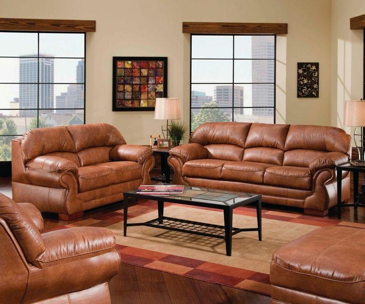 Bobs Furniture Leather Living Room Sets