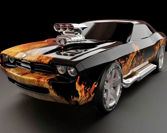 Indescribable Love Blown Muscle Cars Dream Cars T