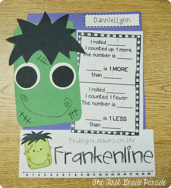 The First Grade Parade: craftivity