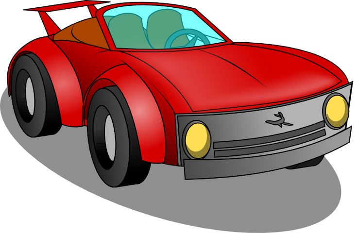 Toy Race Car Clipart | Los Angeles Car Donation