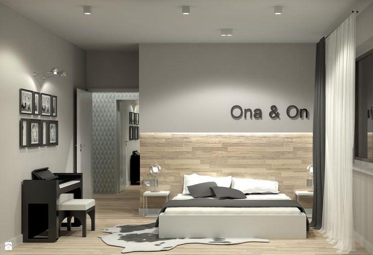 Zdjęcie: Sypialnia styl Minimalistyczny - Sypialnia - Styl Minimalistyczny - m.design