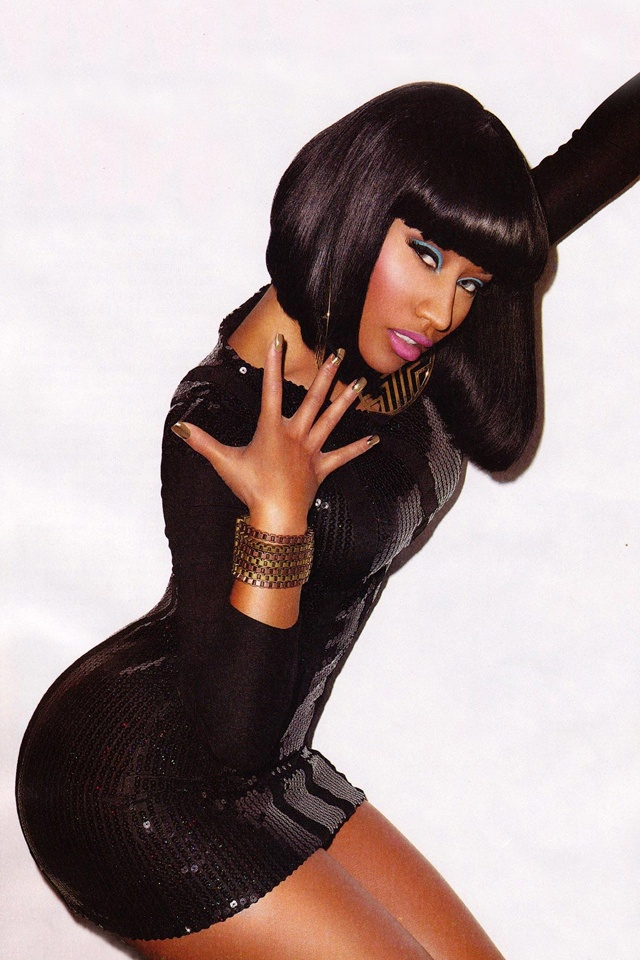 Another of Nicki Minaj. Love this whole look!