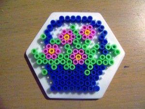 Flowers hama beads by Ilhja - Randi Frederiksen