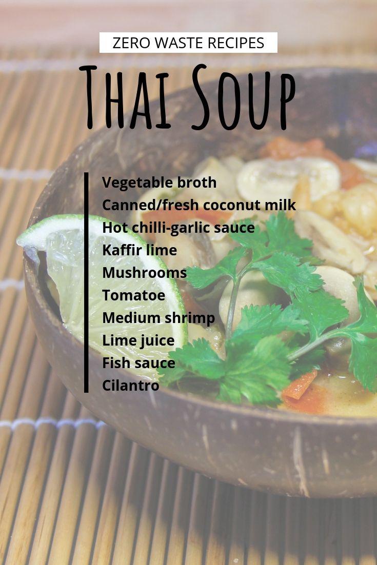 Thai Soup Thai Soup Recipes Thai Soup Soup Recipes