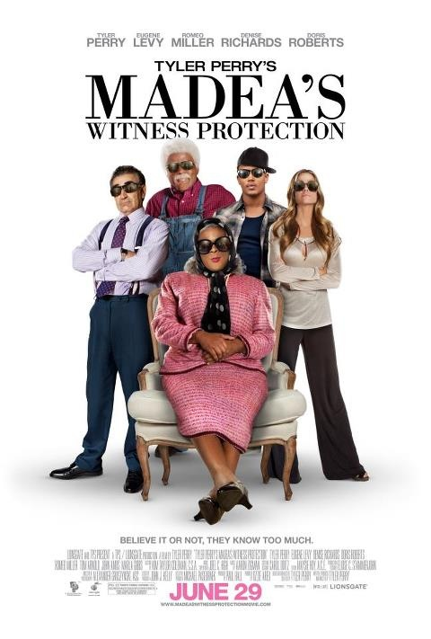 "MADEA'S WITNESS PROTECTION"" JUNE 29 in MOVIE THEATER'S - can't wait to see it"