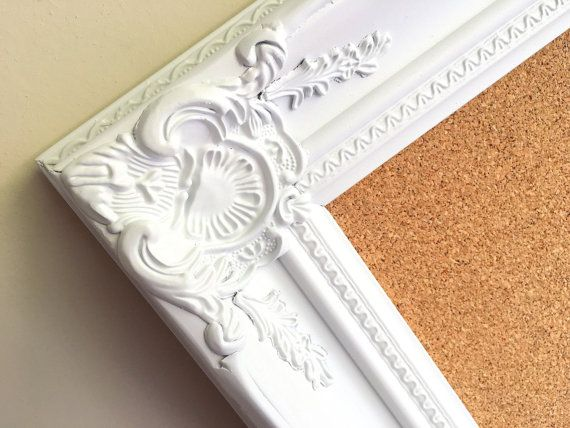 22 best Framed Cork Boards images on Pinterest | Magnet boards ...