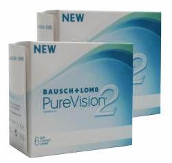 #линзы #глаза #зрение  Контактные линзы PureVision 2 HD, Pure Vision HD и Pure Vision 2HD от Bausch (2 упаковки)