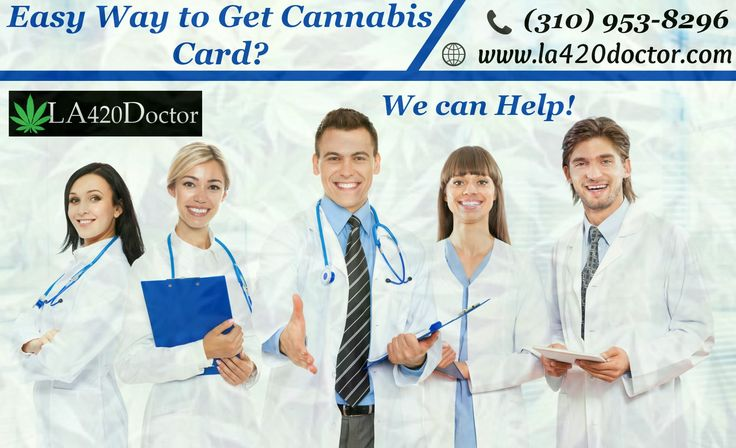 If you are looking for the best Cannabis Card in Los Angeles? We can help you to get cannabis card easily and we provide best recommendation for your alternative medical treatments. For more information contact us: (310) 953-8296.