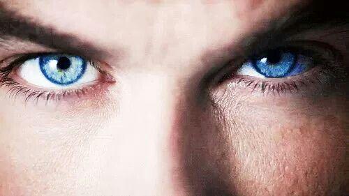 Ian Somerhalder's eyes...I could get lost in those eyes!