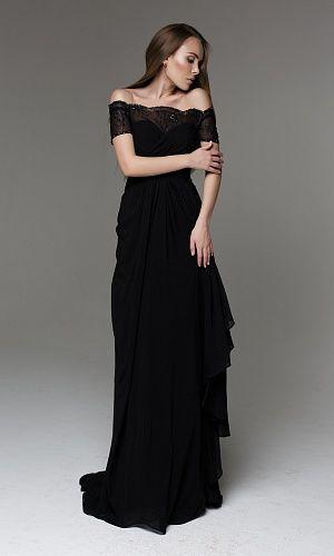Вечернее платье BLACK U