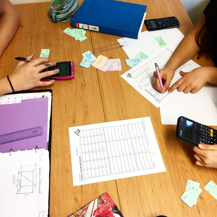 Pythagorean Team Challenge in action!