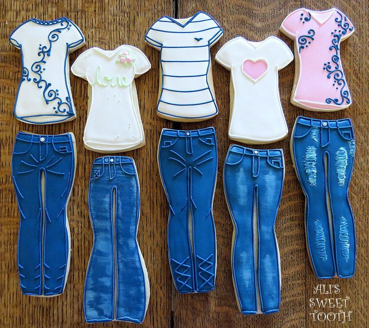 Alis sweet tooth Jeans and T shirts   Cookie Connection